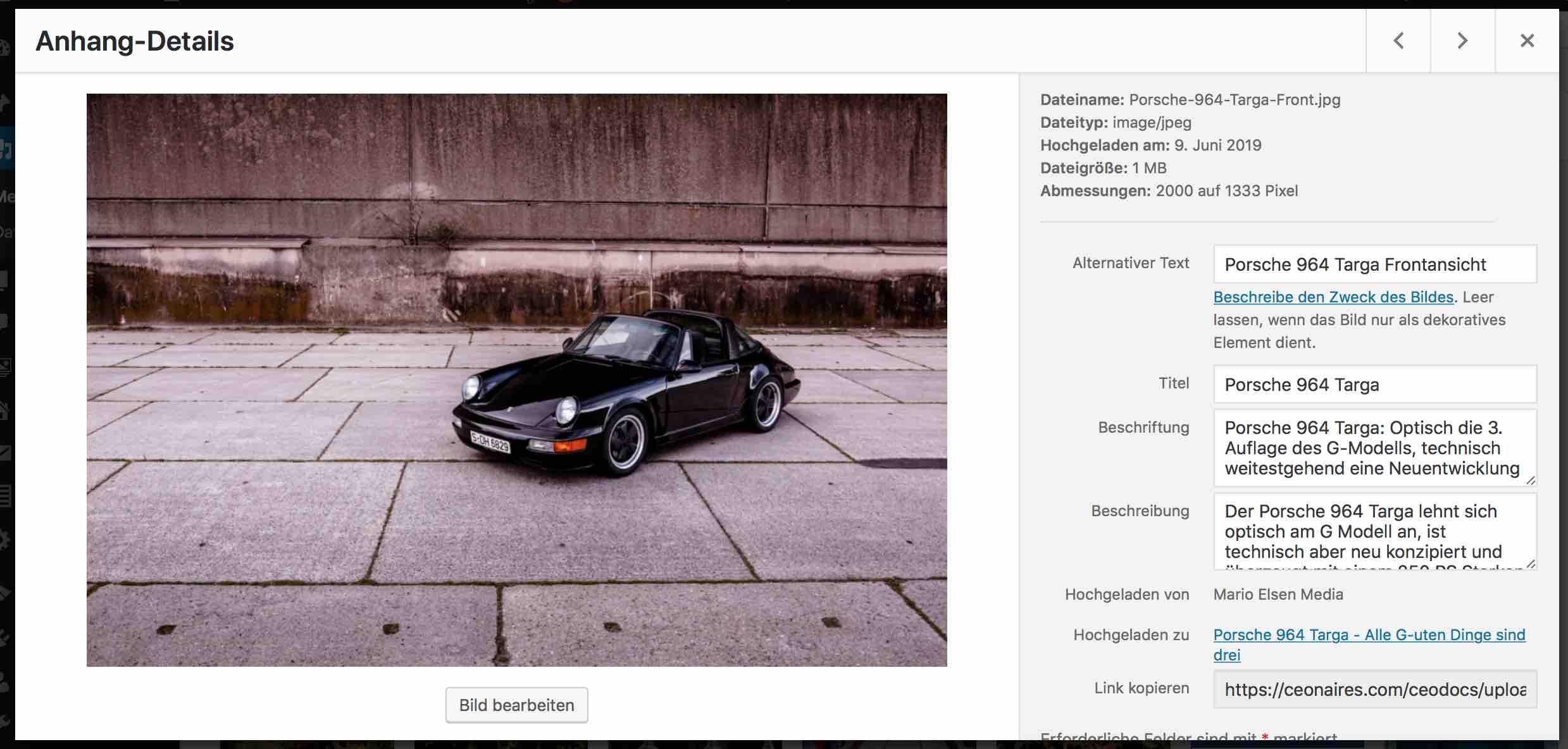 Multisite-Mediathek-Bildbeschreibungen